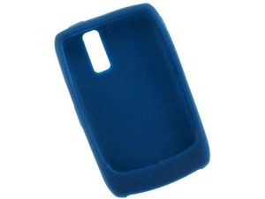 Silicone Flexible One Piece Phone Protector Blue Case For BlackBerry Curve 8350i