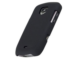 Incipio Feather Series Rubberized Plastic Phone Protector Case Black Original (OEM) SA-151 For Samsung Droid Charge