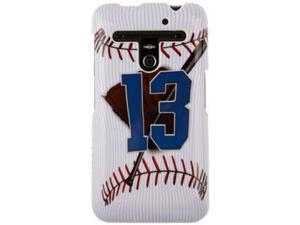 Hard Plastic Baseball Design Phone Protector Case for LG Revolution