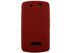 Case Mate Red Antimicrobial Smart Skin Silicone Case (OEM) Original BBSTRMSS-SR For BlackBerry Storm 9530