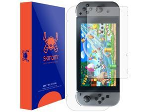 Nintendo Switch Screen Protector + Full Body , Skinomi? MatteSkin Full Skin Coverage + Screen Protector for Nintendo Switch Anti-Glare and Bubble-Free Shield