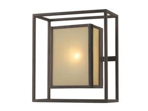 World Imports 9066-55 Hilden Outdoor Clct Wall-Mount Outdoor Sconce, Aged Bronze