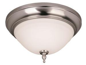 World Imports 8385-02 Montpelier Bath Clct 2-Lgt Flush Mount Lgt, Satin Nickel