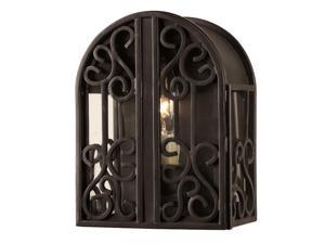 World Imports 5250-42 Sevilla Clct Wall-Mount Outdoor Sconce, Rust