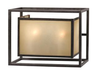 World Imports 4182-55 Hilden Clct 2-Lgt Wall Sconce, Aged Bronze
