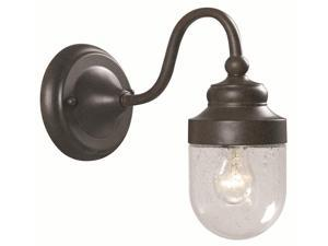 World Imports 9071S-89 Dark Sky Nichols Road Clct 1-Lgt Ex. Short Wall Sconce, Bronze