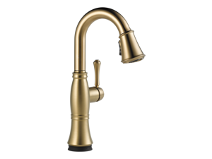 Delta Single Handle Pull-Down Bar/Prep Faucet with Touch2O(R) Technology - 9997T-CZ-DST
