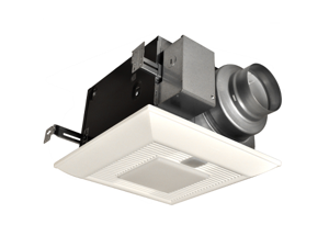 Panasonic WhisperGreen Continuous Operation Bathroom Fan with Motion Sensor and Lights - FV-08VKML3