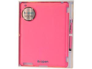 Ibiopen New iPad/iPad 2 Cover Set Pink (included a Ibiopen Stylus Pen) IP2-001 Polycarbonate materials, Sleek leather touch ...