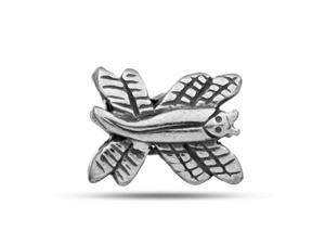 Sterling Silver Dragonfly Bead