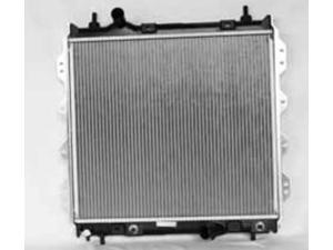 NEW RADIATOR ASSEMBLY CHRYSLER 01-09 2.4L L4 2429CC 148CC 8012298 9908 CR37001A 8012298 5017404AB 5017404AD 3109 2972 REA41-2298A