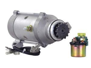 NEW STARTER MOTOR WITH SOLENOID 80-82 HONDA GOLDWING GL1100 31200-463-008 SM224 31200-463-405