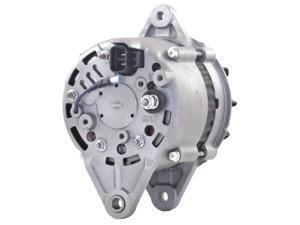 NEW 24V 35 AMP ALTERNATOR KOMATSU LOADER YANMAR ENGINE LR235-705 12990077240
