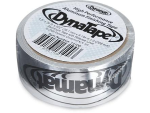 Dynamat 13100 1.5 x 30 ft. DynaTape Solid Aluminum Finishing Tape - Roll .002 Thick