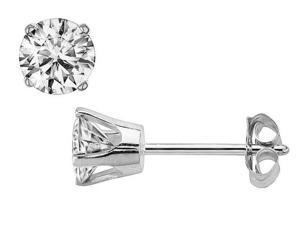 SightHolder Diamond Stud Earrings