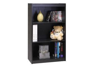Furinno 11138BK TiADA No Tools Concept 3-Tier Heavy Duty Bookcase, Black