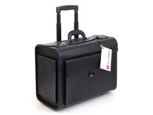 "Alpine Swiss AS5518 Rolling Briefcase 19""- Black"