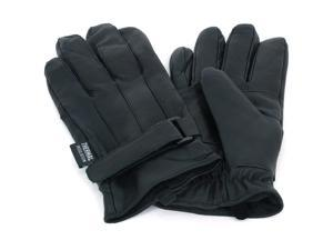Alpine Swiss Mens Leather Gloves Velcro Strap Thinsulate Lining Insulated 40 Gr.