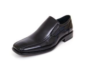 Mens Dress Shoes Slip on Loafers Leather Lined + Free Shoe Horn by Delli Aldo