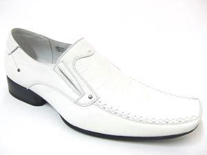 Mens Dress Shoes Leather Lined Slip On Casual Mule Tapered Toe Western Loafers