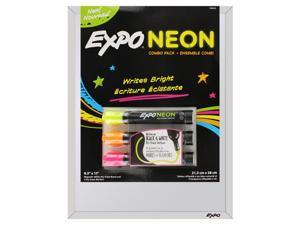 Expo 8.5 in x 11 in Dry Erase Whiteboard with Markers Combo Pack