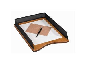 Eldon Expressions Open Mesh/Cherry Wood Letter Tray
