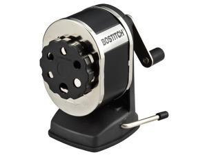 Stanley Bostitch Vacuum Manual Pencil Sharpener, Black (MPS1SC-BLK)