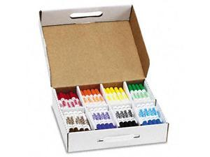 Dixon Washable Markers, Eight Assorted Colors, 200/Box, CT - DIX80613