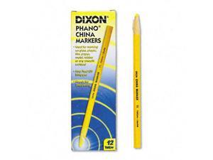 Dixon China Marker, Yellow, Dozen, DZ - DIX00073
