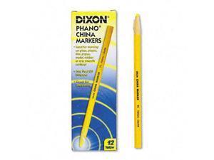 Dixon China Marker, Yellow, Dozen, DZ - DIX00073