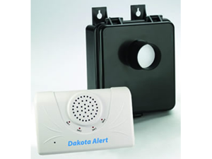 Wireless Motion Detector/Receiver Kit