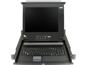 "Aten 17"" Single-Rail LCD Integrated Console - N39050"