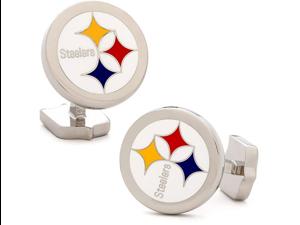 Sterling Pittsburgh Steelers Cufflinks