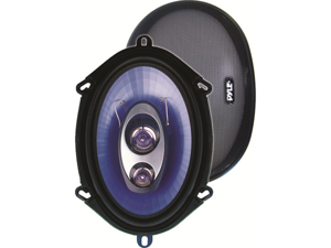 PYLE CAR AUDIO PL573BL NEW 5 X 7 & 6 X 8 INCH 300 WATT THREE WAY SPEAKERS 1 PAIR