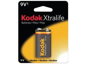 KODAK XL9V1 Xtralife(TM) Alkaline Batteries (9V&#59; 1 pk)