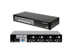 Connectpro UR-14KIT 4-port VGA KVM with Cables
