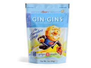 Ginger People Gingins Super Candy Bags - Case of 24 - 3 oz - HSG-477398