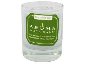 Aroma Naturals Soy Votive Candle - Tranquility - Glass