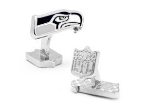 NFL Palladium Seattle Seahawks Cufflinks