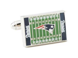 New England Patriots Field Cufflinks