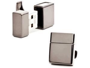 Gunmetal 2GB USB Flash Drive Cufflinks