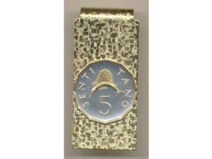 Gorgeous Two tone Tanzania Coin Money clips-185MC