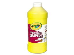 Premier Tempera Paint, Yellow, 32 Oz
