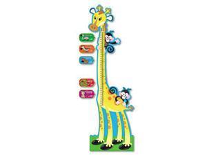 Giraffe Growth Chart Bulletin Board Set, 6 Ft