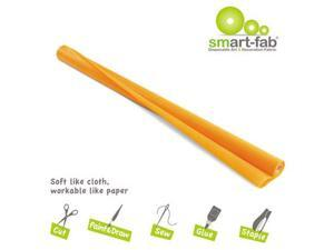 Smart Fab Disposable Fabric, 48 X 40 Roll, Orange