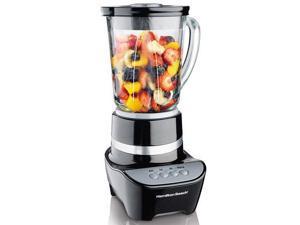 Hamilton Beach 53205 Black 40 oz. Jar Size WaveMaker 10-Speed Blender 10 speeds