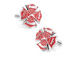 Nickel plated Fireman Cuff Links