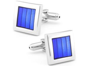 Azure Blue Window Cuff Links