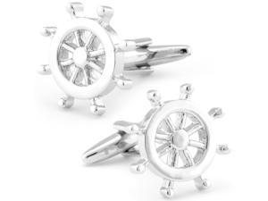 Sailboat Wheel Cufflinks