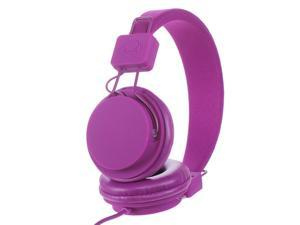 Subjekt TNT-QM1257 40mm Headphones with Mic - Purple